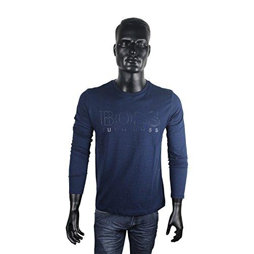 BOSS Green Langarm Shirt Hugo Boss für Herren | Erhältlich in mehreren Größen | Farbe: navy