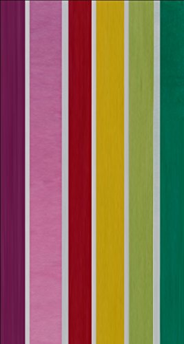 Maghso Beautiful Egyptian Cotton Luxury Large Beach Towels, Fruit Stripe