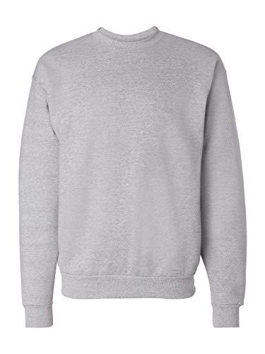 Hanes Men's Ecosmart Fleece Sweatshirt, Light Steel, 3XL