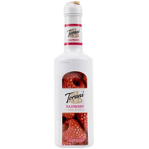 Torani Puree Blend, Raspberry, 33.8 Ounce