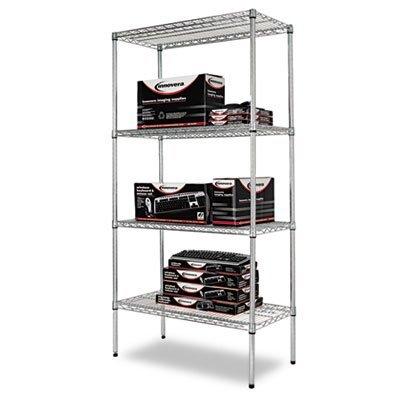 alera-sw503618sr-wire-shelving-starter-kit-4-shelves-36w-x-18d-x-72h-silver-2-pack