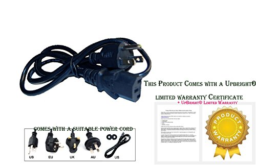 UpBright AC IN Power Cord Outlet Plug Cable For Crown XLi800 XLi2500 XLi1500 XLS602 XLS202 CTs1200 CTs2000 CTs3000 CTs4200 CTs8200 XLS402 XLS802 XLS2000 XTi2000 XLS2500 XLS1500 XLS1000 CTS600 (Xls 602 Amplifier)