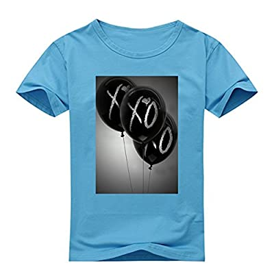 Newfits Men's Custom The Weeknd XO Tee Shirt