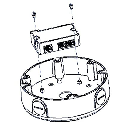 Amazon Com Linovision Passive 2 Port Extender Splitter