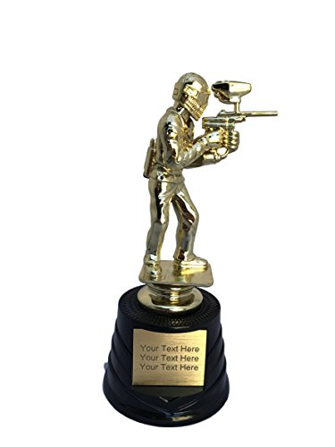 Trophy Crunch - Customized Paintball Trophies - Paintball - Free Plate Engraving