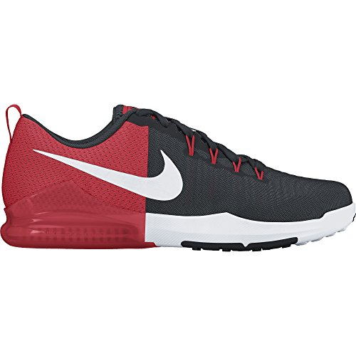 Cheap NIKE Men's Zoom Train Action Training Shoe Black/White/Wolf Grey/Action Red Size 12 M US
