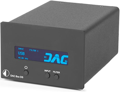 Pro-Ject DAC Box DS (black) Digital To Analog Converter, Black by Pro-Ject