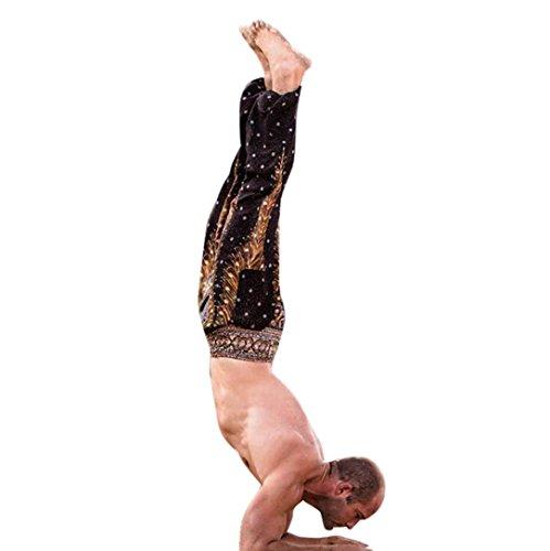 Bovake - Leggings sportivi -  donna Nero Black X-Large