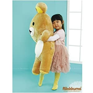 KPT - rilakkuma bear plush toy stuffed big size (39)