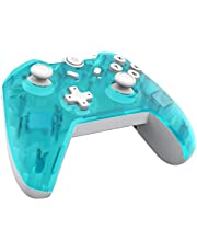 JFUNE Wireless Pro Controller for Nintendo Switch, Controller Bluetooth Gamepad with Dual Vibration and Gyro Axis Function for Nintendo Switch 9.0 Green (2019 New Version)