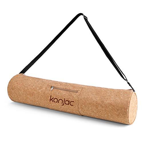 🥇 konjac Bolsa Esterilla Yoga con Bosillo