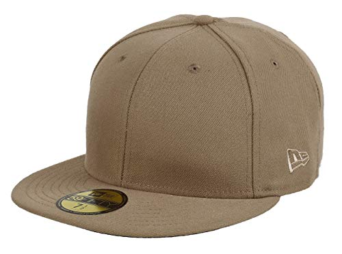 59Fifty Fitted Hat (Camel) Men's Blank Cap ()