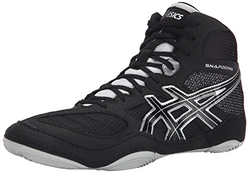 ASICS Men's Snapdown, Black/Silver, 11.5 M US
