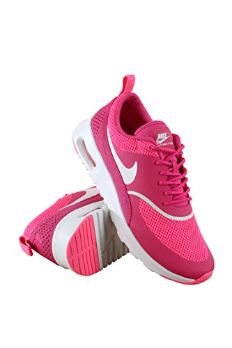 599409-609 Kvinnor Air Max Thea Nike, Levande Rosa / Summit Vit, 5 B (m) Oss