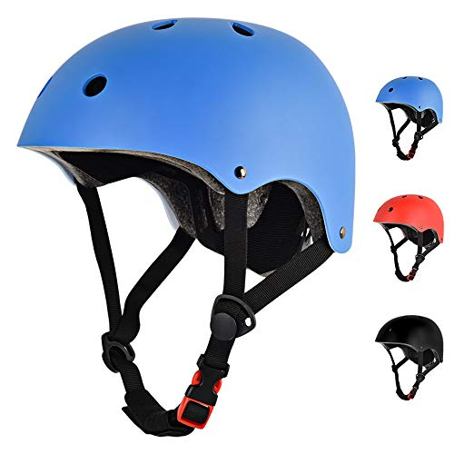 UPANBIKE Mountain Bike Riding Helmet One-Piece Adjustable Cycling Bicycle Skateboard Head Protective Medium Size for Adults Men Women