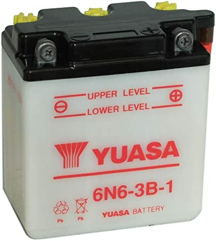 Yuasa Batteries 6N6-1B
