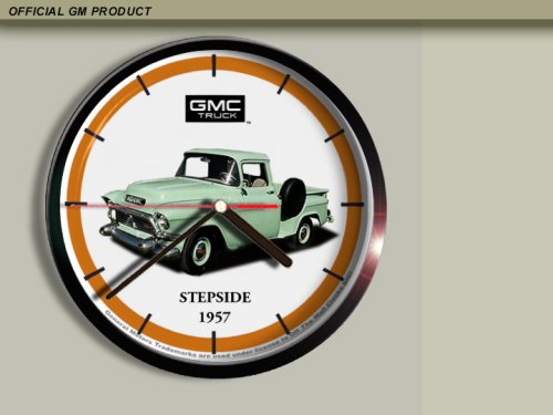 1957 GMC Pickup Truck Wall Clock B003