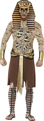 Adult Mummy Costumes - Zombie Pharaoh Adult Costume - Large