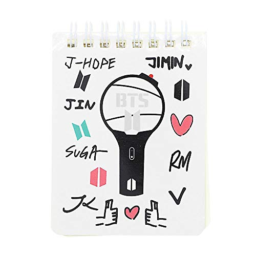 Signature Guest Books - Kpop Cute Bt21 Pattern Coil Notebook Tata Rj Mang School Study Note Book Christmas Party Signature - Bts School Favor Pullover Signature Kpop Jimin Bts Bts Figure Signatur