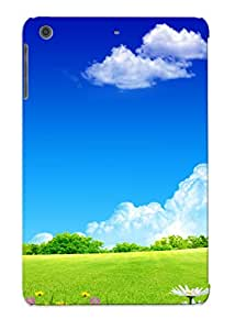 Bkdwhv-5639-uchdlsk Tpu Case Skin Protector For Ipad Mini/mini 2 Summer Landscape With Nice Appearance For Lovers Gifts