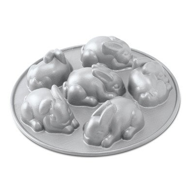 Nordic Ware Baby Bunny Cakes Pan (Nordic Ware Cakelet Pan compare prices)