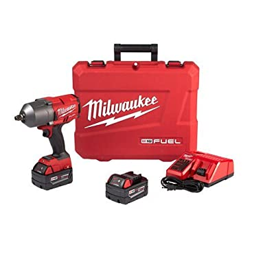 "Milwaukee 2767-22 M18 FUEL High Torque 1/2"" Impact Wrench with Friction Ring Kit (Replaces 2763-22)"