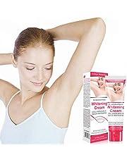 TBEONE 50 ml underarm blekningskräm, kroppskräm för armhålorna, knän, armbågar, känsliga och privata områden, smör hud vitgörare ger näring till kräm för kvinna