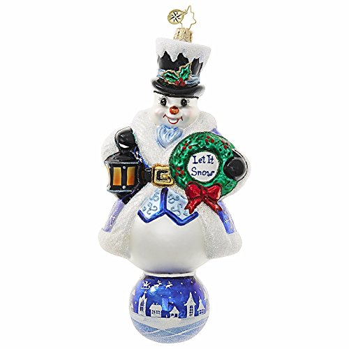 Christopher Radko Let It Snow Ornament 1018706