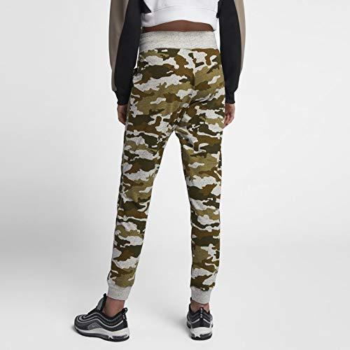 Pantaloni Nike palestra donna Camo Olive Flak Vintage da vela da rEAxqr