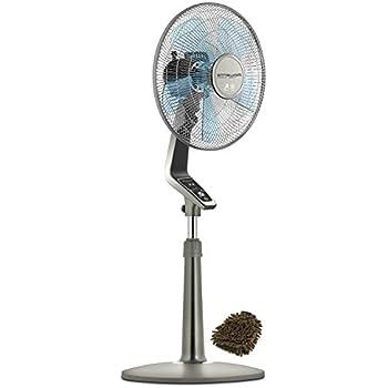 Amazon Com Rowenta Vu5551 Fan Pedestal Turbo Silence 4