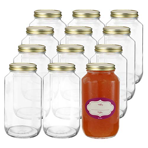 glass container 24 oz - 6