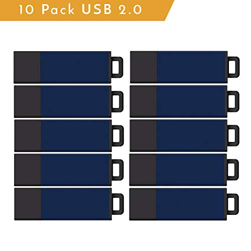 Centon Electronics Value Pack USB 2.0 Datastick Pro2, Blue 2G 10 Pack (S1-U2F15-16G)