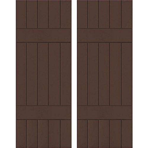 Ekena Millwork CWB18X035TBC Exterior Five Board