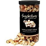 Funky Chunky Flavored Popcorn - Vanilla Sweet Creme - Tall Canister - 19 Ounce