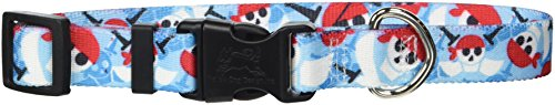 Yellow Dog Design Pirate Skulls Dog Collar, Small-3/4 wide fits neck sizes 10 to 14'' by Yellow Dog Design (Image #1)