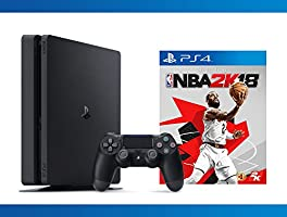 Playstation 4 Slim 1TB Console + NBA 2K18 Bundle ( 2 - Items )