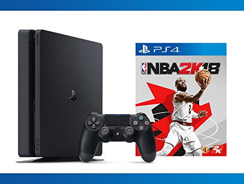 Playstation 4 Slim 1TB Console + NBA 2K18 Bundle ( 2 – Items )