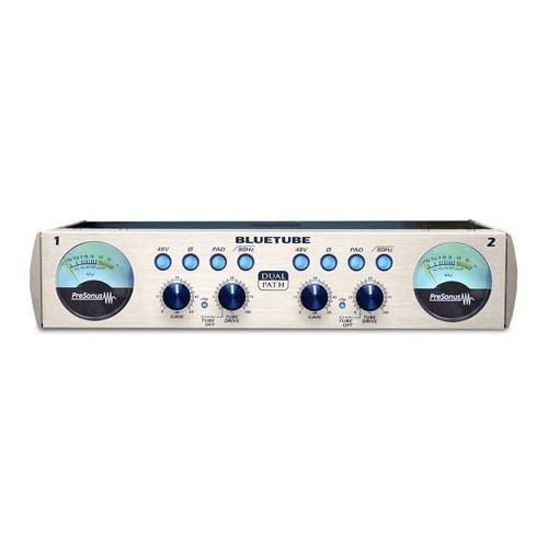 Tube Dp Two Channel Microphone (PreSonus BlueTube DP 2-Channel Vacuum Tube Dual-Path Mic Pre)