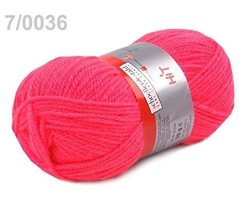 1pc 7 (0036) Pink Lemonade Knitting Yarn 50g Hit, Knitting, Crochet, Embroidery, Haberdashery