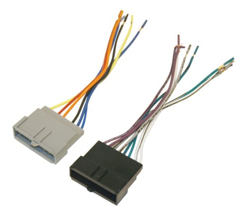 41WLtNrFL9L amazon com scosche fd02b wire harness to connect an aftermarket  at readyjetset.co