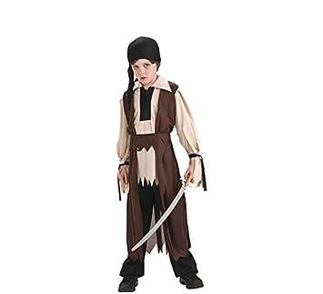 Rubies - Disfraz infantil de pirata fantasma, color marrón - Talla ...