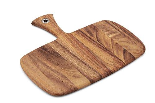 Ironwood Gourmet 28114 Small Rectangular Provencale Paddle Board, Acacia Wood Ironwood Gourmet Acacia Wood