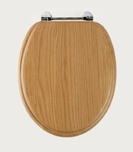 Stupendous Destiny Wood Toilet Seat In Traditional Wooden Oak Colour By Roper Rhodes Gmtry Best Dining Table And Chair Ideas Images Gmtryco