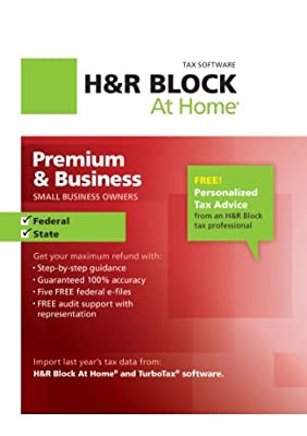 H&R Block At Home Premium & Business 2012
