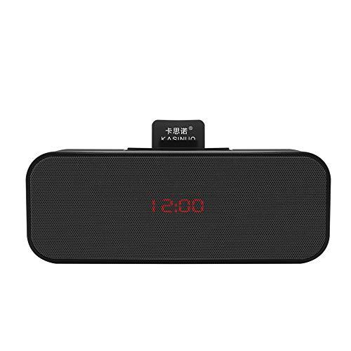 xingganglengyin Subwoofer Bluetooth Speaker Bluetooth Audio Card Subwoofer Wireless Clock Car Speaker by xingganglengyin (Image #3)