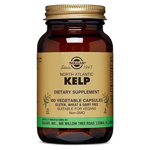 Solgar - North Atlantic Kelp, 100 Vegetable Capsules