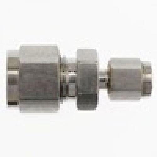 Brennan - Instrumentation Straight Adapter - 1/4 in Instrumentation x 1/8 in Instrumentation, Stainless Steel (2 Units) by brennan