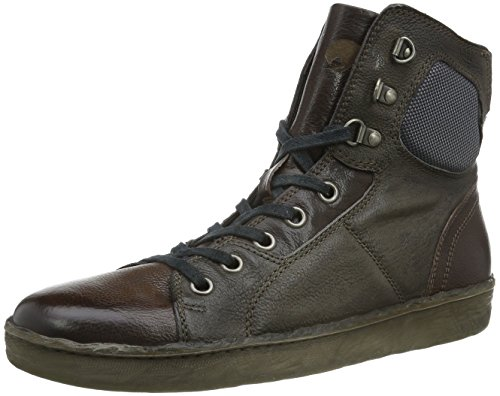 Mjus - 308203-0201-0002, Sneaker Alte Uomo Marrone (Cacao+pepe+pepe)