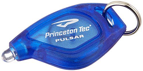 Princeton Tech Pulsar Translucent Lamp, Blue with Blue (Tec Translucent Flashlight)