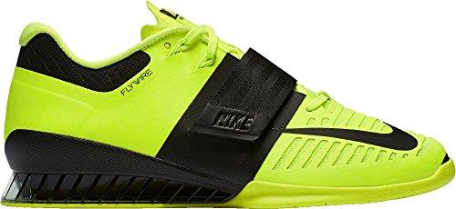 Shoe 3 US Nike Weightlifting Volt Romaleos Black Men's FP4qnw7H